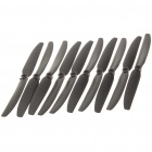 Nylon 9 x 5E Propellers for Quadcopter - Black (5-Piece)