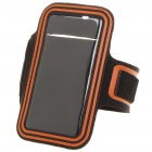 Sports Gym Arm Band Case for Samsung i9100 Galaxy S2 - Black + Orange