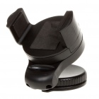 Car Windshield Swivel Mount Mini Holder w/ Suction Cup for iPhone 4 - Black