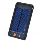 Solar/AC Powered 11200mAh 3.7V Emergency Battery Charger w/ LED Flashlight for Laptop/Cell Phone/PSP