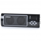 "1.0"" LCD Portable USB Rechargeable MP3 Music Speaker with FM/TF/LED Flashlight"