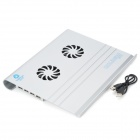USB 2.0 Laptop Cooling Pad with Fan Speed Controller