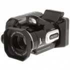 "5.0MP CMOS Digital Video Camcorder w/ 8X Digital Zoom/HDMI/AV-Out/SD - Black + Silver (2.5"" LCD)"