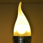 E14 4W 250lm Warm White Light Candle 4-LED Style Bulb (110~250V)