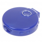 Mini CD Player Style USB Rechargeable Screen-Free MP3 Player w/ TF Slot/3.5mm Audio Jack - Purple