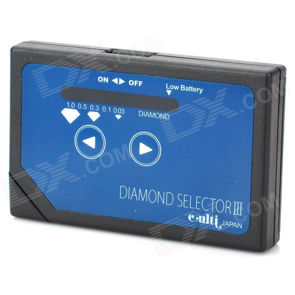 Portable Diamond Tester Selector (2 x AAA)