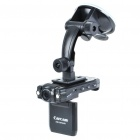 "720P 3.0MP Wide Angle Car DVR Camcorder w/ 2-LED IR Night Vision/HDMI/TF Slot (2"" LTPS LCD)"
