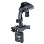 "Full HD 3.0MP Wide Angle Car DVR Camcorder w/ 2-LED IR Night Vision/HDMI/TF Slot (2"" LTPS LCD)"