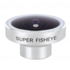 Detachable 185-Degree Wide Angle Fish Eye Lens for Cell Phones and Digital Cameras