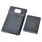 3.7V 3500mAh Battery w/ Back Case for Samsung i9100 Galaxy S2 - Black