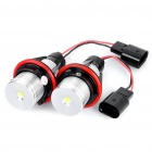 3W 8000K 160LM Angel Eyes White Light Bulbs For BMW E39 - Pair (8~30V)