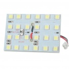 T10/BA9S 2.5W 11000K 270LM 24x5050 SMD LED Car White Light Bulb (12~24V)