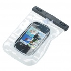 Waterproof Bag Case with Strap for Cell Phone/MP3/MP4 - White
