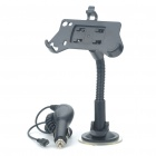 Car Swivel Mount Holder w/ Car Charger Set for Samsung S5830