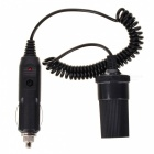 Car Cigarette Lighter Extension Cord Cable with Socket(75CM / DC 12V)