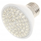 E27 4W 6500K 350-Lumen 60-LED White Light Bulb (85~245V)