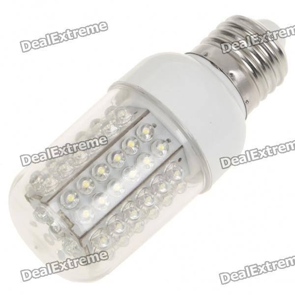 E27 5W 6500K 460-Lumen 78-LED White Light Bulb (85~245V) от DX.com INT