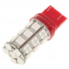 T20 1.7W 80-Lumen 27-SMD LED Red Light Bulb (DC 12V)