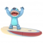 Cute Stitch Surfing Style TF Card Reader