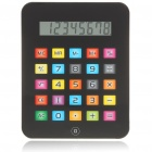 "Fashion 5.0"" LCD iPad Style Touch Panel Calculator - Black (1xL1131C)"