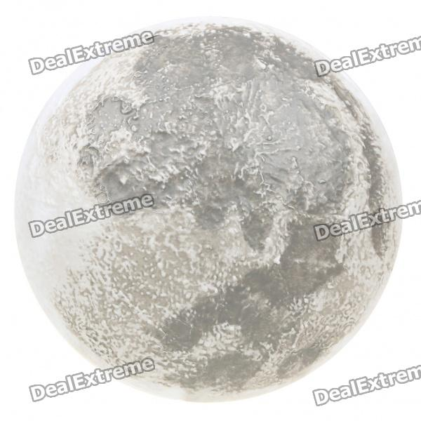 Relaxing Healing Moon Lamp with White 6-LED Light (4xAA + 2xAAA)