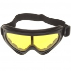 Tactical Outdoor War Game Fashion Goggles Glasses - Random Color