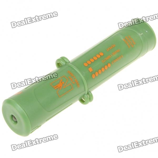 Portable Multi-Function Outdoor Survival 10-in-1 Emergency Flashlight - Green (2xCR1632) шлемы и защита velolider шлем велосипедный