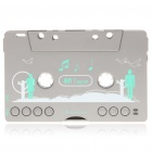 Car Audio Tape Cassette Adapter MP3 Player with SD/MMC Slot
