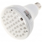 E27 3W White 36-LED Rechargeable Emergency Light Bulb (100~240V)