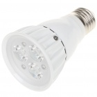 E27 3x1W 3-LED Bulb Accessories Aluminum Housing Shell - White