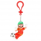 Super Mario Football Team Figure Toy with Suspension Clip - China #11