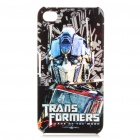 Transformers 3 Optimus Prime Pattern Protective Case w/ Screen Film + Anti-Dust Plug for iPhone 4