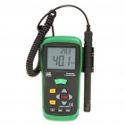 "2.7"" LCD Thermometer/Humidity Meter - Green + Black (1x9V)"
