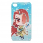 Cute Cartoon Style Protective Case with Screen Protector + Anti-Dust Plug for Iphone 4