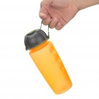 Outdoor Sports Water Bottle Cup with Strap - Orange (500ml)