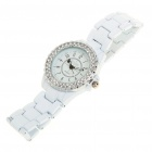Fashion Water Resistant Quartz Wrist Watch with Crystal(1x626)