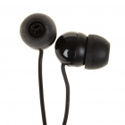 Stylish In-Ear Earphone for MP3/MP4/Cell Phone - Black (3.5MM Jack)