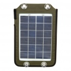 5W Portable Solar Emergency Charger Pack with 7 Charging Adapters