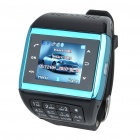 "1.3"" Touch Screen Wrist Watch Style Dual SIM Quadband GSM Cell Phone w/ Camera"