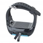 "1.3"" Screen Wrist Watch Style Quadband GSM Phone - Black + Blue"