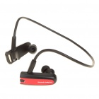 Sporty Bluetooth V2.1+EDR A2DP Stereo Handsfree Headset w/ Microphone - Black + Red