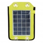 2.4W Portable Solar Emergency Charger Pack with 7 Charging Adapters