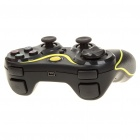 Rechargeable DualShock Bluetooth Wireless SIXAXIS Controller for PS3 (Black + Yellow)