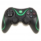 Rechargeable DualShock Bluetooth Wireless SIXAXIS Controller for PS3 (Black + Green)