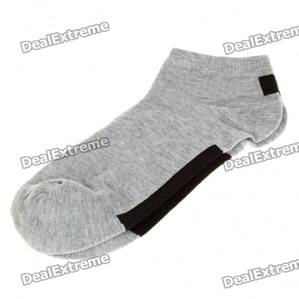 Cotton Socks for Men - Grey (Pair)