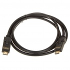 Gold Plated 1080P HDMI V1.3 M-M Connection Cable - Black (160CM-Length)