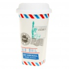 Ceramic Cup with Cover (300ml)