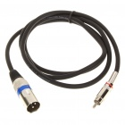 Cannon Male to RCA Male Audio Adapter Cable (1.4M-Length)