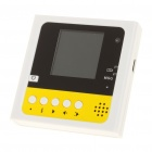 1.44&quot; LCD Rechargeable 300KP Video Memo Message Recorder w/ Magnet - White (32MB)