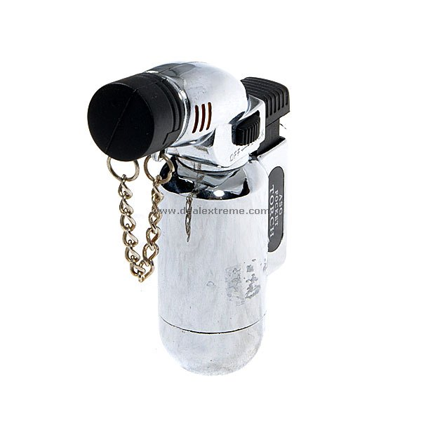 Metallic Butane Jet Lighter
